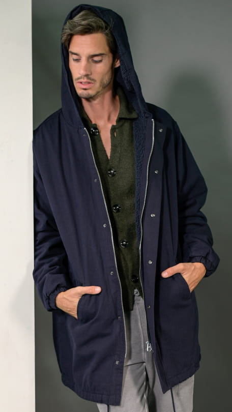 THE COLLEGE PARKA