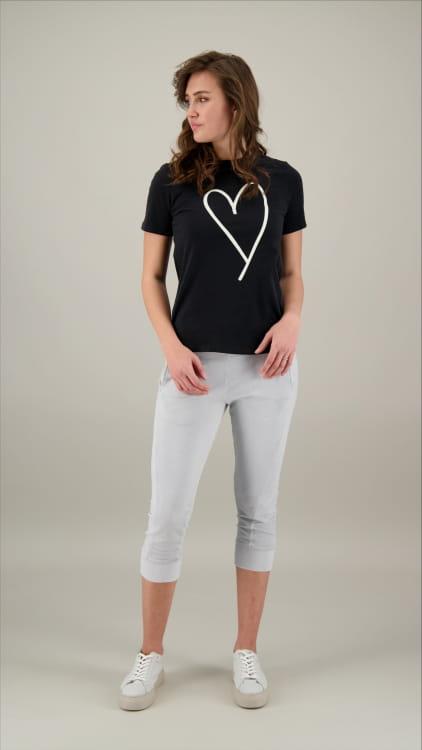 T-SHIRT CREW HEART