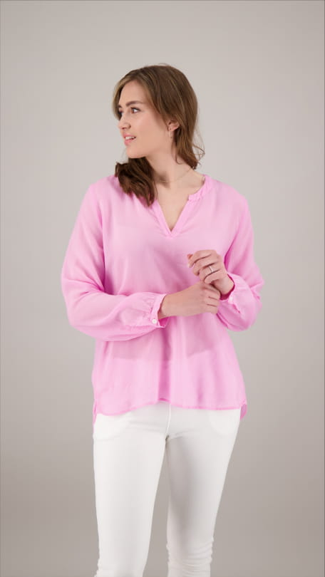 STAND UP BLOUSE